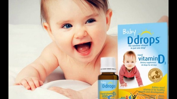 Baby Ddrops Vitamin D3 400 iu 90 Drops cho trẻ sơ sinh 1