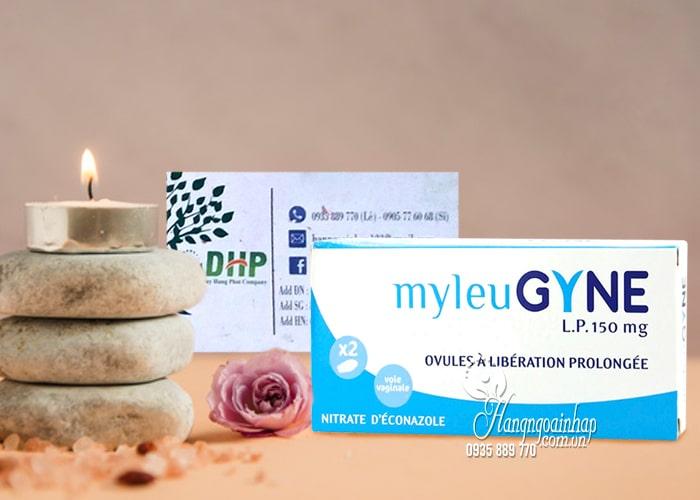 Viên đặt phụ khoa MyleuGyne L.P 150mg trị nấm, viêm âm đạo 5