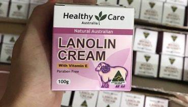 Kem nhau thai cừu Lanolin Cream With Vitamin E có tác dụng gì?