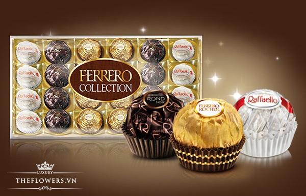Socola Ferrero Collection 24 viên 269g chính hãng từ Ý 1