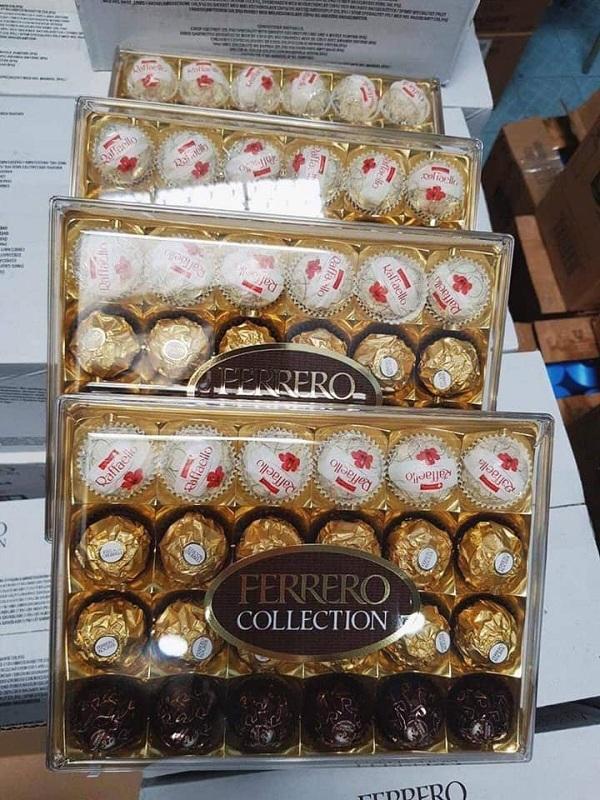 Socola Ferrero Collection 24 viên 269g chính hãng từ Ý 7