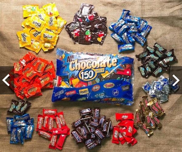 All Chocolate 150 Pieces - Kẹo socola 2.55 kg của Mỹ 1