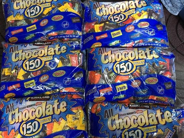 All Chocolate 150 Pieces - Kẹo socola 2.55 kg của Mỹ 7