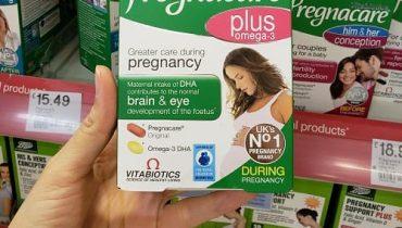 Viên uống vitamin cho bà bầu Pregnacare Plus Omega-3 có tốt không?