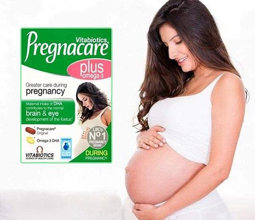 Viên uống vitamin cho bà bầu Pregnacare Plus Omega-3 có tốt không-3