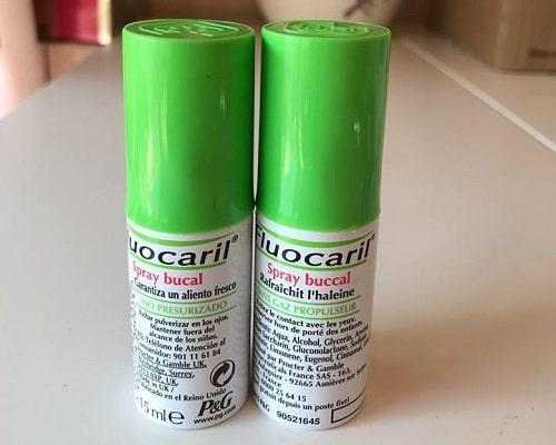 Xịt thơm miệng Fluocaril Spray Buccal có tốt không-2