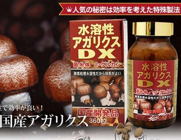 Nấm Agaricus DX 360 viên Nhật Bản tăng cường sức khỏe 1