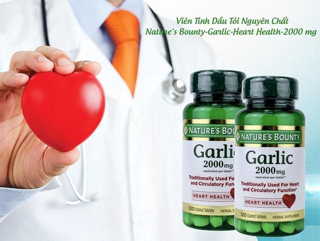 Tinh dầu tỏi Garlic 2000mg Nature's Bounty của Mỹ chính hãng 5