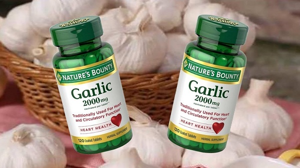 Tinh dầu tỏi Garlic 2000mg Nature's Bounty của Mỹ chính hãng 1