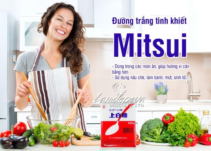 Đường trắng Mitsui 1kg của Nhật Bản, hàng mới về 2