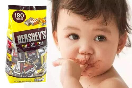 Kẹo chocolate Hershey's Miniatures có tốt không-3