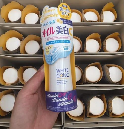 Dầu dưỡng trắng da White Conc có tốt không-2