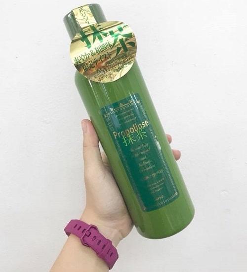 Nước súc miệng Propolinse màu xanh có tốt không-2