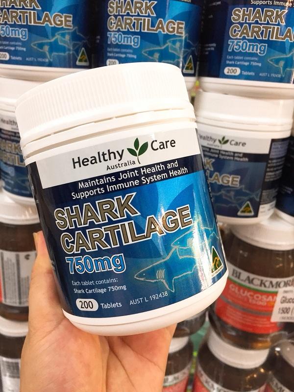 Thuốc Shark Cartilage 750mg của Úc bổ xương khớp 6