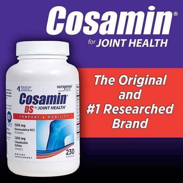 Thuốc bổ khớp Cosamin 230 Capsules của Mỹ, giá tốt nhất 8