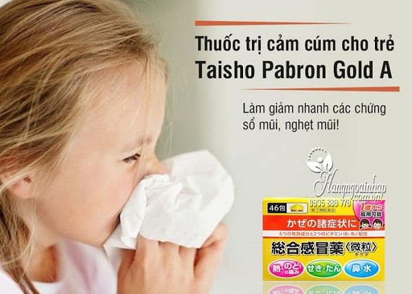 Thuốc cảm cúm của Nhật cho trẻ em Taisho Pabron 46 gói 3