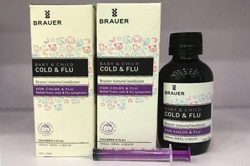 Siro Brauer Baby & Child Cold and Flu có tốt không?