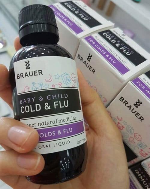 Siro Brauer Baby & Child Cold and Flu có tốt không-2