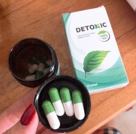 Thuốc Detoxic của Nga 20 viên, diệt ký sinh trùng triệt để 1