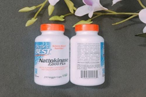 Viên uống Doctor's Best Nattokinase 2000 FUs có tốt không-2