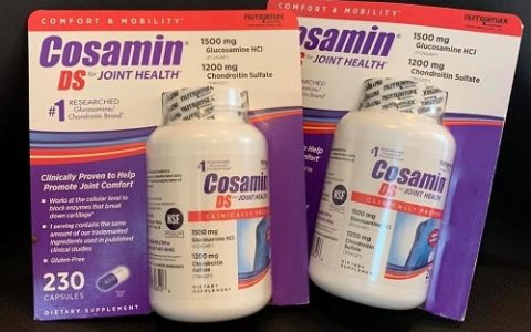Tác dụng phụ của thuốc Cosamin DS for Joint Health?