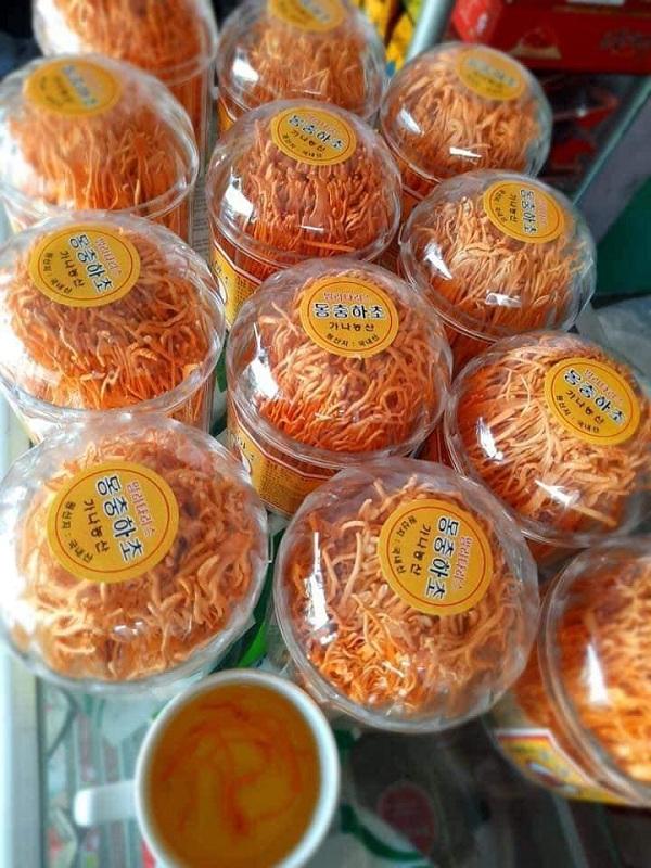 Đông trùng hạ thảo khô Hàn Quốc hộp 45g - Tăng cường sức khỏe 5