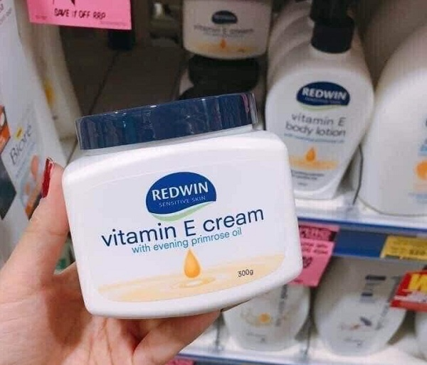Kem dưỡng da Redwin Vitamin E Cream 300g -Dưỡng ẩm mịn 1