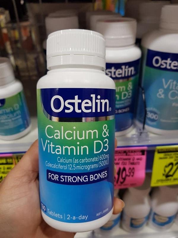Ostelin Calcium & Vitamin D3 cho bà bầu - Hàng Úc mẫu mới 1