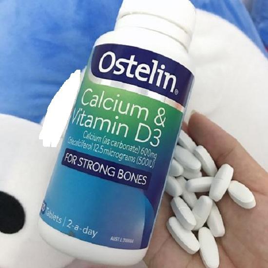 Ostelin Calcium & Vitamin D3 cho bà bầu - Hàng Úc mẫu mới 6