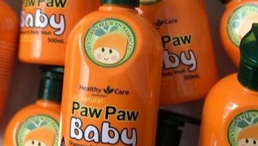 Review sữa tắm gội Paw Paw Baby Healthy Care của Úc