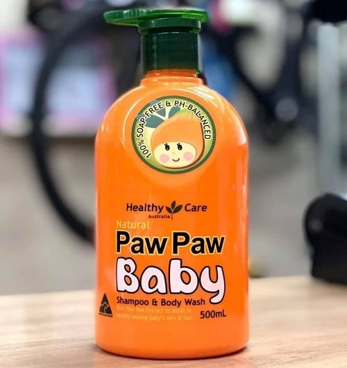 Review sữa tắm gội Paw Paw Baby Healthy Care của Úc-3