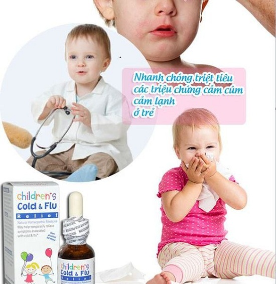Siro trị cảm cúm Cold & Flu Natrabio 30ml của Mỹ cho trẻ em 3