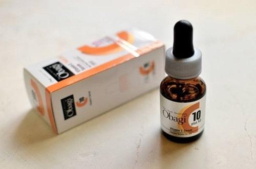 Serum trắng da mờ nám Obagi Vitamin C10 có tốt không?