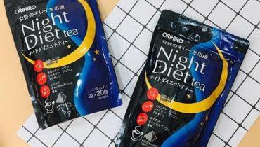 Trà giảm cân Night Diet Tea có tốt không?