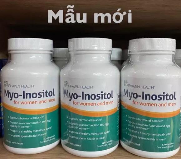 Giá thuốc Inositol là bao nhiêu? Mua thuốc Myo Inositol ở đâu? 1