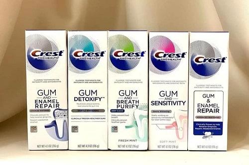 Review kem đánh răng Crest Pro Health 116g của Mỹ