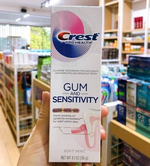 Review kem đánh răng Crest Pro Health 116g của Mỹ-2