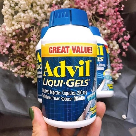 Thuốc Advil 200 viên - Thuốc giảm đau, hạ sốt của Mỹ 4
