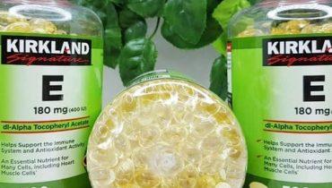 Viên uống vitamin E Kirkland có tốt không?
