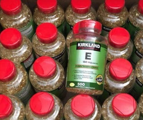 Viên uống vitamin E Kirkland giá bao nhiêu?