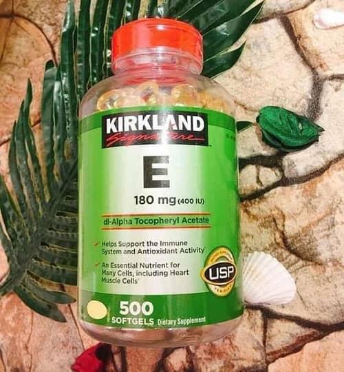 Viên uống vitamin E Kirkland giá bao nhiêu-3