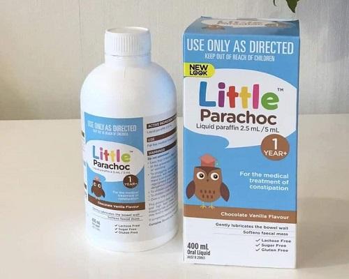 Hướng dẫn cách sử dụng Little Parachoc trị táo bón cho bé