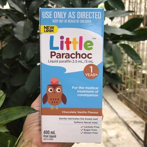Hướng dẫn cách sử dụng Little Parachoc trị táo bón-2