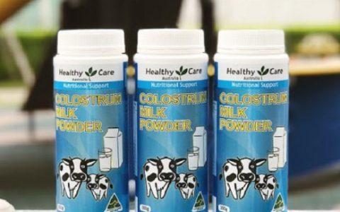 Review sữa non Healthy Care Colostrum Milk Powder