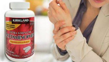 Kirkland Extra Strength Acetaminophen 500mg liều dùng?