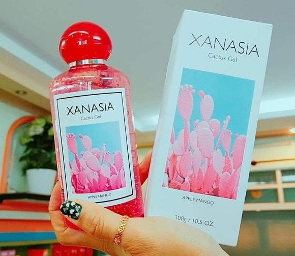 Gel dưỡng ẩm Xanasia 300ml chiết xuất xương rồng đỏ 1