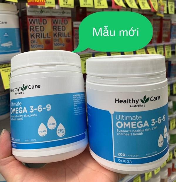 Ultimate Omega 3-6-9 Australia Healthy Care 200 viên Úc 7