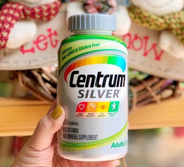 Vitamin tổng hợp Centrum Silver Adults 50+ của Mỹ 1