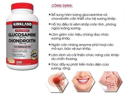 Thuốc Glucosamine Chondroitin Kirkland có tốt không?-3