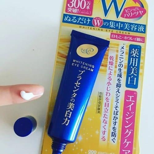 Hướng dẫn sử dụng kem mắt Meishoku của Nhật-3